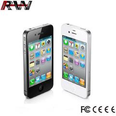 Ryan World refurbished phone iphone 4 32GB+512MB 3.5 inch apple mobile phone unlocked black
