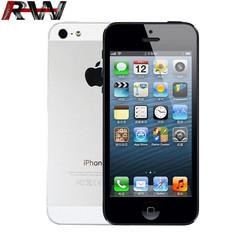 Ryan World Refurbished phone apple iphone 5 16GB+1GB mobile phone iphone5 black