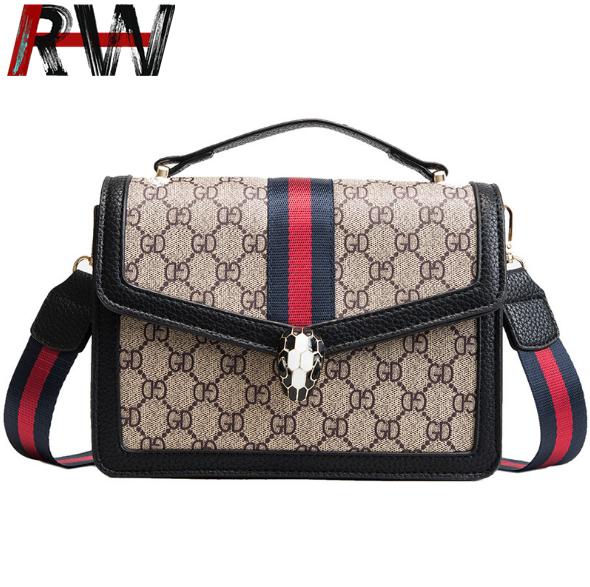 e04d9a95a27 Ryan World Crossbody Saddle Bags Gucci Shoulder Handbags for Women black  one size