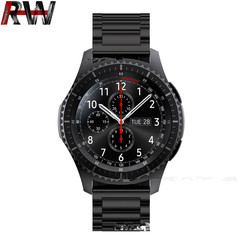 Ryan World Mens Dive Watch Pro Sport Diver with Screw Down Crown Water Resistant  Watches BLACK free size