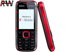 Nokia 5130 XpressMusic GSM Quadband Phone (Unlocked) red