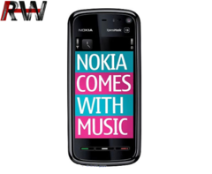 Ryan World Nokia 5800 XpressMusic Unlocked Phone with 3G GPS with Free Voice Navigation Wi-Fi black