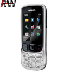 Ryan World Nokia 6303 classic FM GSM 3MP With Camera silver