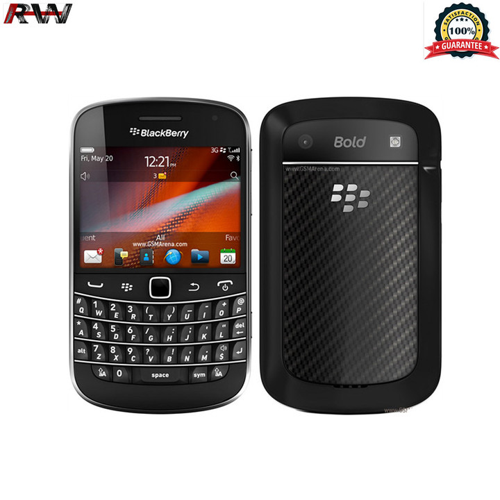 "Ryan World Refurbrished Blackberry Bold Touch 9900 Smartphone 2.8""8GB+768MB 5MP Single sim Mobile black+single sim"