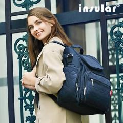 INSULAR one Nylon knapsack bag Mother and baby bag white l