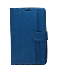 Rich Boss X509 (Zero 2) - Leather Striped Case - Blue