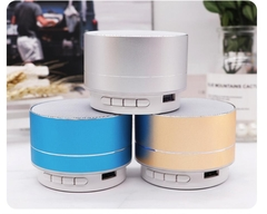Wireless Bluetooth Speaker Metal Mini Portable Subwoof Sound Random