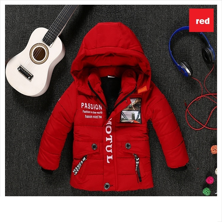 adcf60998 Children Jackets Boys Clothes Winter Baby Boy Jackets warm Kids down ...