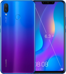 Huawei Nova 3i HUAWEI Kirin 710 processor Mobile Phone Dual Font Rear 24 million pixels Camera 4+128GB Black