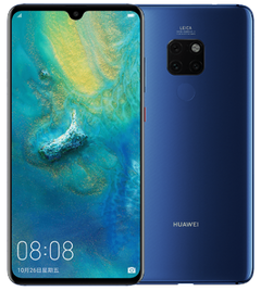 Huawei Mate20 4000hm Battery 24 Million Pixel Excellent Processor Kirin 970 Chip 6+64gb blue
