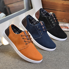 2019 new fashion casual shoes sneakers breathable trend running shoes, cloth shoes leather. orange 39