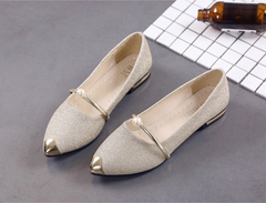 2019 New Pearl Sanded Fashion Women's Sandals Korean Leisure Low-heeled Shoes black 35