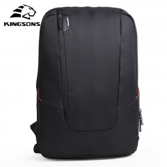 Kingsons KS3019W Candy Black 15.6 inches Laptop Backpack Man Daily Rucksack Travel Bag School Bags black 15 inches