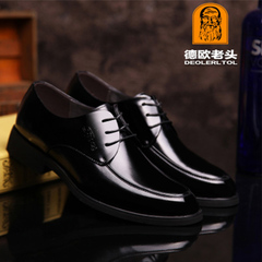 Men's Formal Shoes Full Grain Leather Party Dress Office Genuine Leather Shoe Footwear Plus Size 47 black 5.5 pu