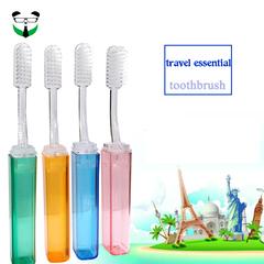 Hard hair nano toothbrush portable creative travel toothbrush random