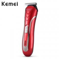 Kemei KM - 1409 Professional Electric Hair Clipper LOVE RED EU PLUG