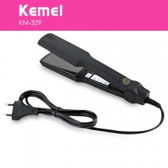 Kemei KM - 329 Professional Hair Straightener Tour BLACK EU PLUG