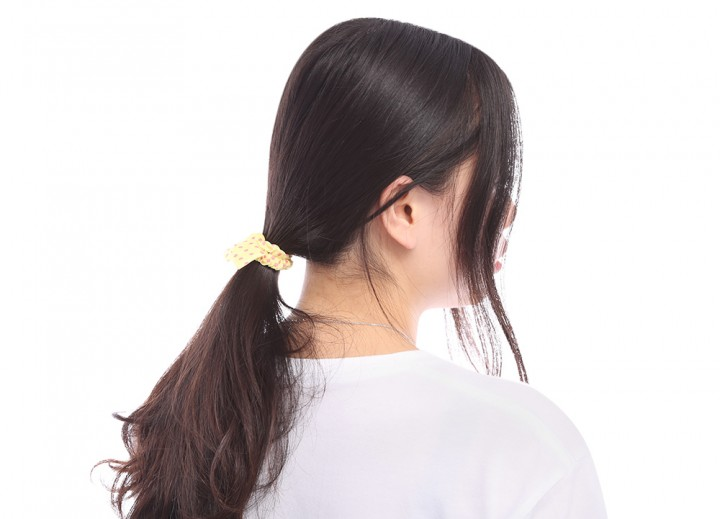 Fashion 10pcs Hair Tie Band Ponytail Holder Elastic Rubber for Women