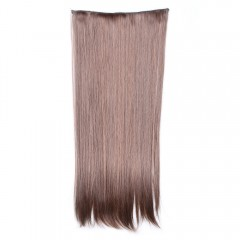 Fashion Long Straight Charming Light Brown Heat Re LIGHT BROWN