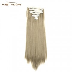 AISI HAIR Straight Long High Temperature Resistant #21