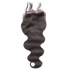 Peruvian Natural 1B Color Body Wave 8A Virgin Hair BLACK 12 INCH