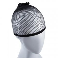 Necessary Flexible Weaving Cap Hair Net Cool Mesh  BLACK 17CM