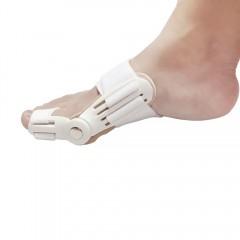 Bunion Aid Hinged Splint Toe Straightener Correcto WHITE