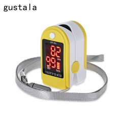 gustala Instant Read Digital Pulse Oximeter Health YELLOW