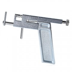 Fashion Iron Ear Piercing Gun with Box Pen Earring SILVER