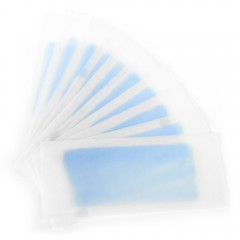 10pcs Hair Removal Double Sided Cold Wax Strips Pa BLUE