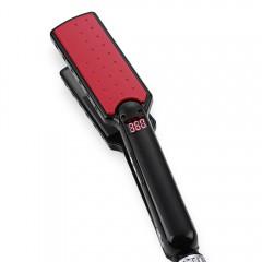 Ultrathin Hair Straightener Tourmaline Ceramic Hea RED EU PLUG