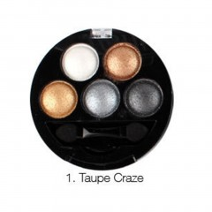 5 Colors Shimmer Eyeshadow Palette Cosmetics Tool Eye Shadow Makeup With Brush