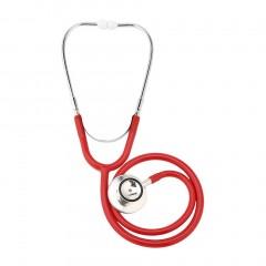 Double-sided Stethoscope Single Tube Doctors Nurse Cardiology Stethoscope random color