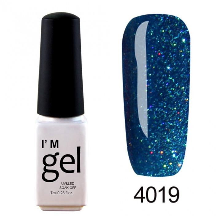 Nail Art Gel Polish UV LED Gel Nail Glue Gel Nail Polish Soak-off Long-lasting 4019 default