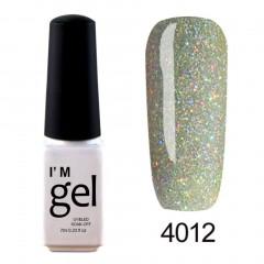 Nail Art Gel Polish UV LED Gel Nail Glue Gel Nail Polish Soak-off Long-lasting 4012 default