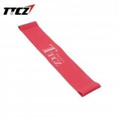 Elastic Tension Resistance Band Fitness Rubber Loop Band Yoga Equipment red
