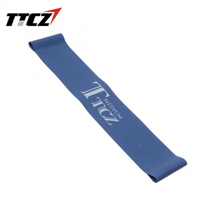 Elastic Tension Resistance Band Fitness Rubber Loop Band Yoga Equipment blue
