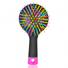 Portable Anti-static Hair Comb Hairdressing Handle Salon Styling Hairbrush black 150*75*25mm