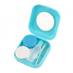 Plastic Mini Contact Lens Case Outdoor Travel Contact Lens Holder Container