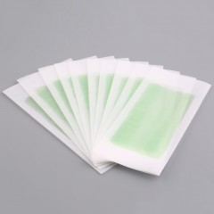 10PCS Hair Removal Double Side Cold Wax Strips Paper For Body Facial Hair