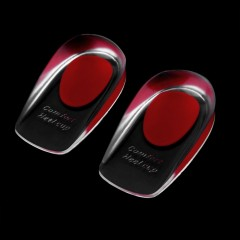 1 Pair Silicone Feet Cushion Heel Half Insole Inserts Shoe Pads Foot Care