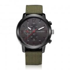 Hannah Martin Man Watch Casual Three-Eye Design Quartz Watch Wristwatch