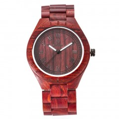 UWOOD Wooden Watch Elegant Men Watch Luminous Japanese Movement Quartz Watch