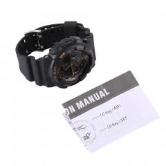 Water-resistant Outdoor Sport Watch Dual Display Electronic Watch for Men