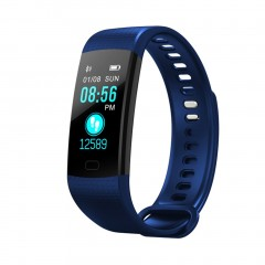 Y5 Smart Watch Color Screen Real-time Heart Rate Monitor Pedometer USB Charge