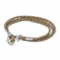 Fashion Men's Anchors Multi Surround Braided Infinity Bracelet Jewelry Gifts