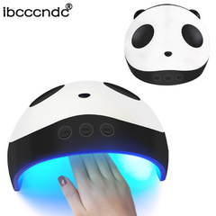 36W Nail Lamp Panda Pattern LED/UV Nail Lamp Gel Polish Dryer Nail Dryer white