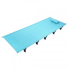Outdoor Camping Mat Portable Folding Aluminum Allo BLUE