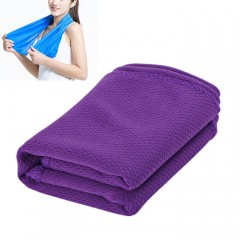 Magic Summer Cold Towel with Great Water-absorbenc PURPLE