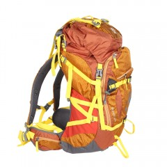 55L Large Capacity Outdoor Mountaineering Camping  YELLOW